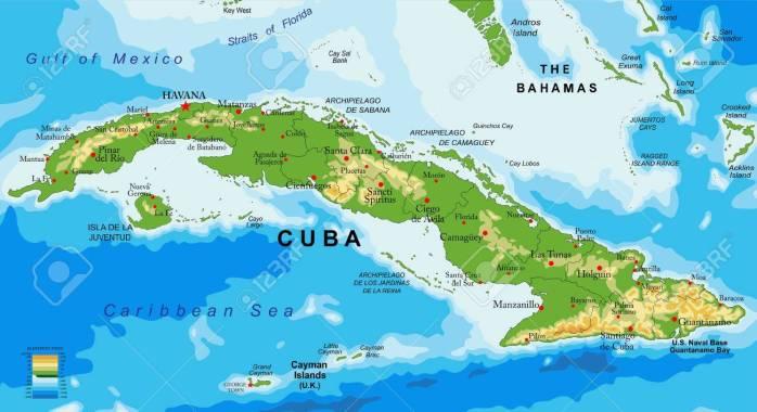 2019 09 Sept Cuba map
