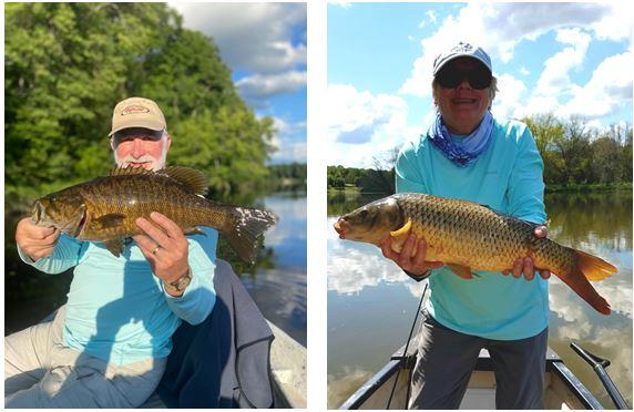 2020 09 Sept - Sept 28th - Bob bass and Lynn carp