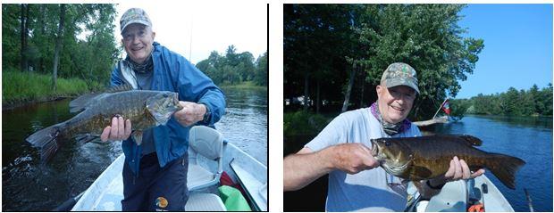 2020 09 Sept - Sept 28th - Walt 2 Smallmouth Bass